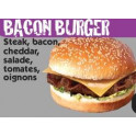 bacon buger